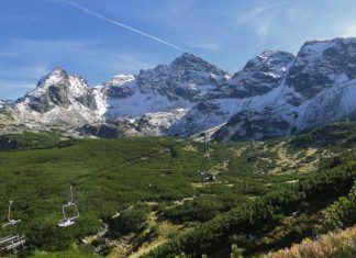Rudziejące Turnie i pusty szczyt...