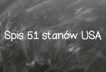Spis 51 stanów USA