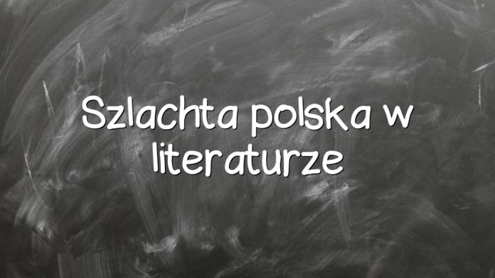 Szlachta polska w literaturze