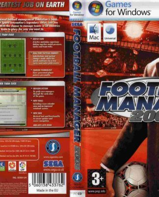 Recenzja Football Manager 2008
